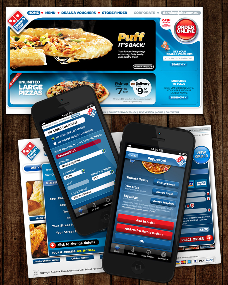 Dominos Pizza Australia